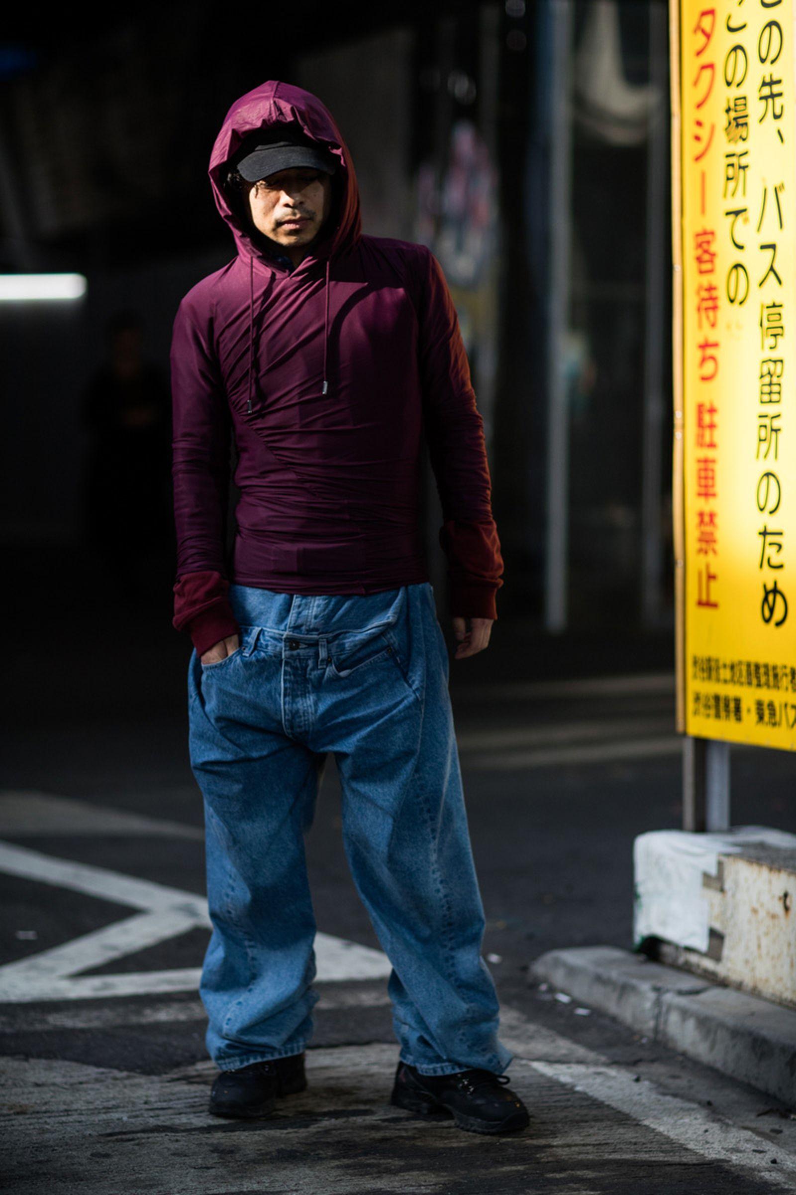 22tokyo fashion week street style
