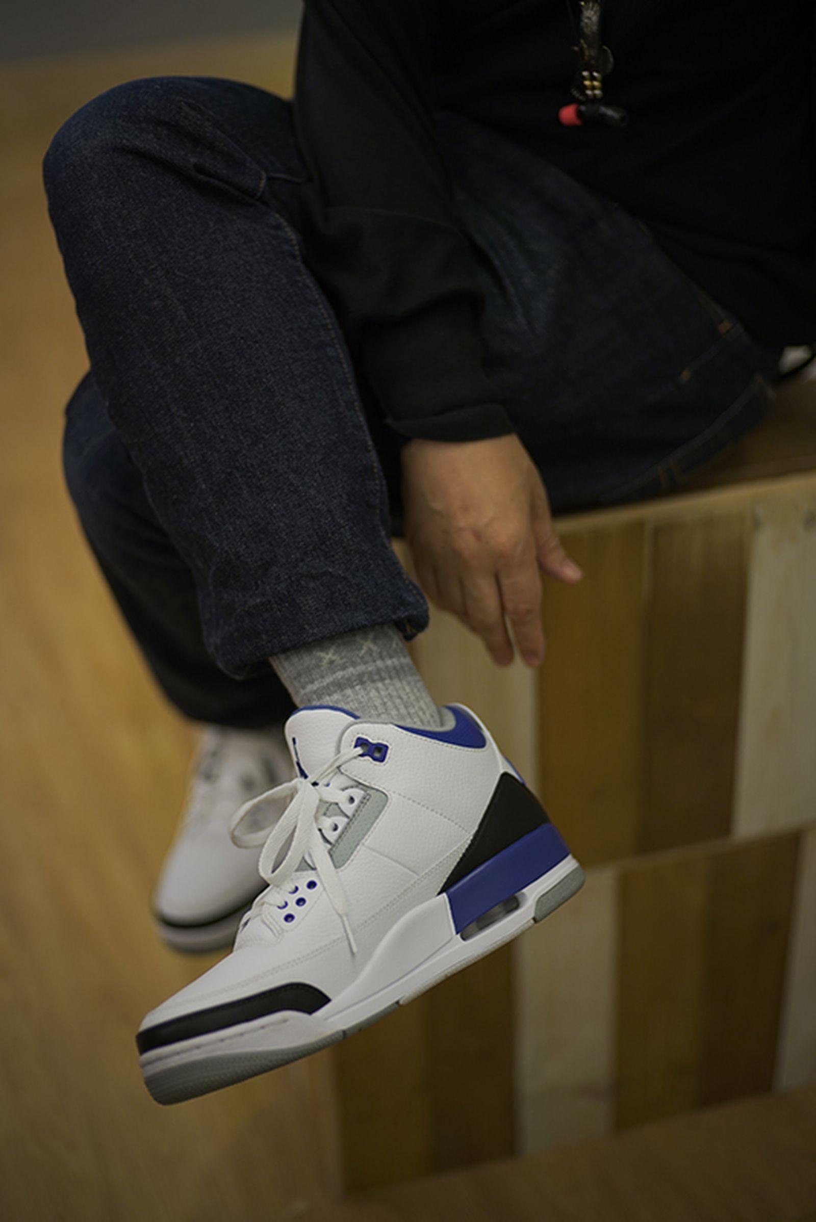 fragment design air jordan 3 sample hiroshi fujiwara jordan brand