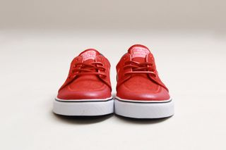 6aada8cf2d68 2 more. Previous Next. Nike SB presents yet another iteration of their  ever-popular Stefan Janoski sneaker in a light crimson white gym red ...