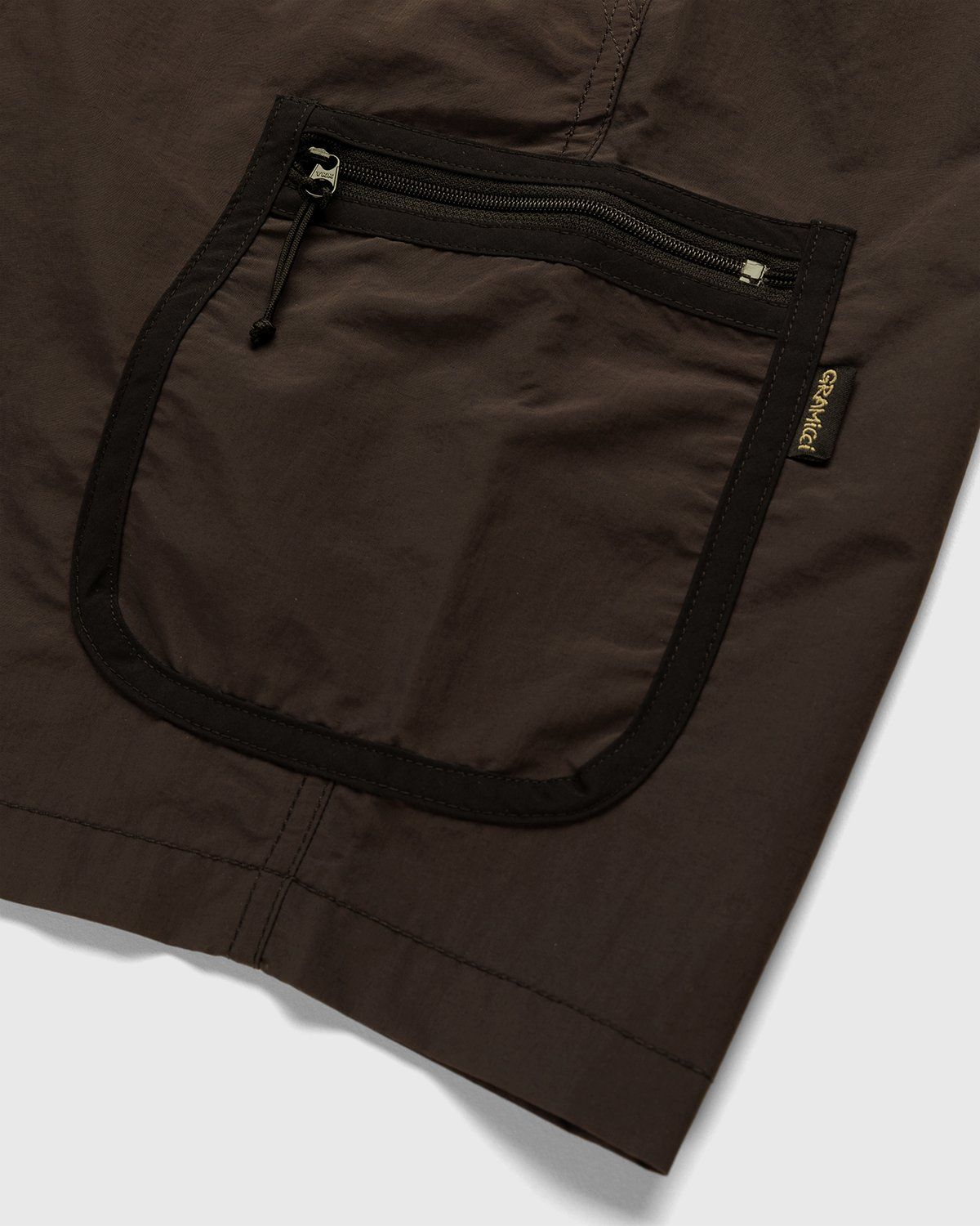 Gramicci for Highsnobiety – Shorts Brown - Image 4