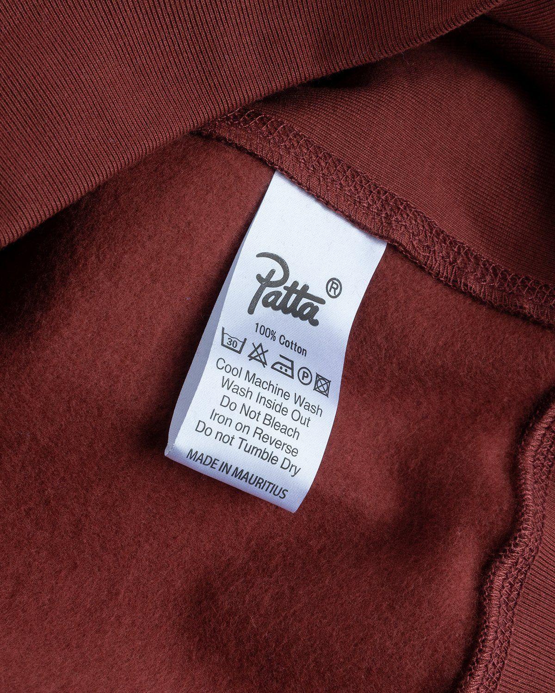 PATTA – Basic Hooded Sweater Brown - Image 5