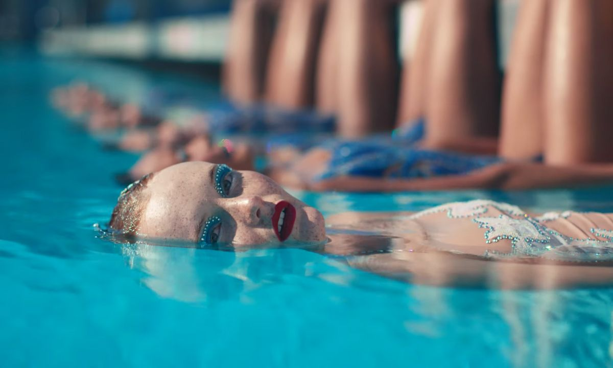 "Kacy Hill Goes Synchronized Swimming in ""To Someone Else"" Video"