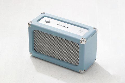 Charlotte Faux Leather Bluetooth Speaker