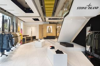 e1c4649860 Stone Island Opens New Flagship Store in Tokyo
