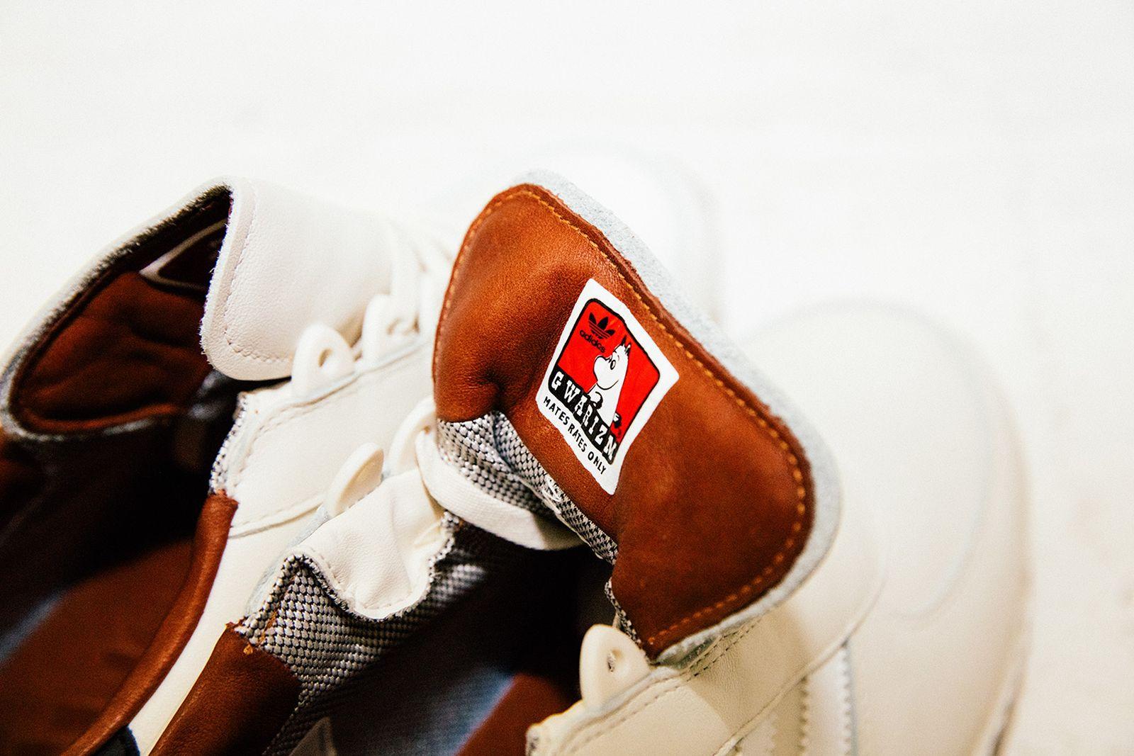 Gary Warnett Gwarism Adidas collaborations gore-tex gwarizm