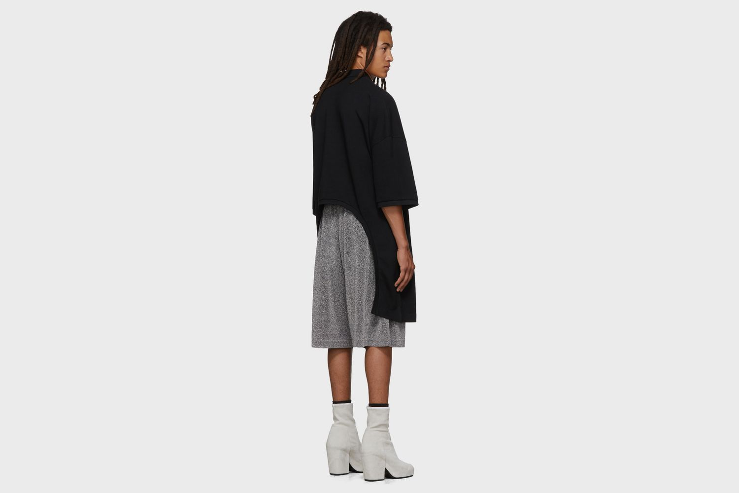 Oversized Cut-Out Polo