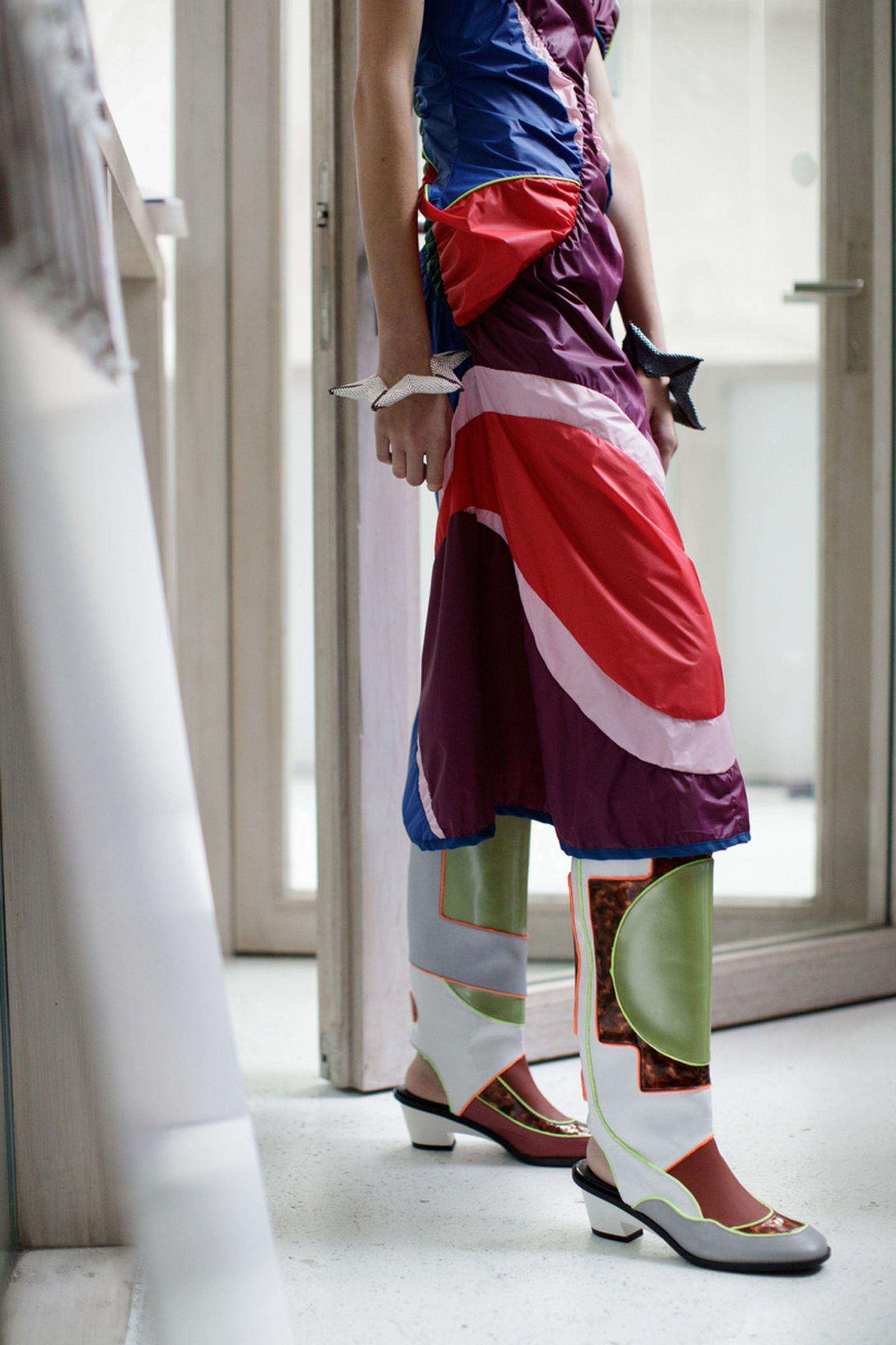 kiko kostadinov london fashion week5