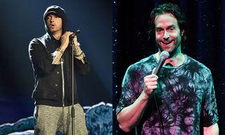 Eminem Cannot Get Over Chris D'Elia's Spot-On Impression of Him