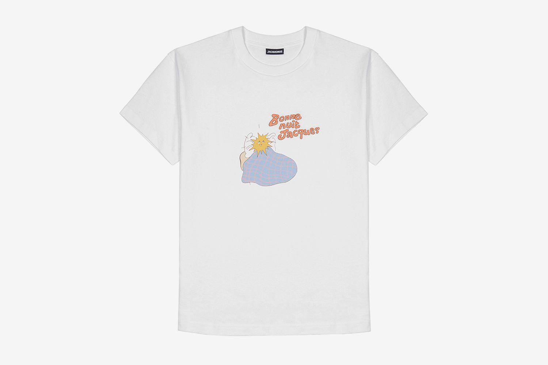 Bonne Nuit Jacques Printed Cotton T-Shirt