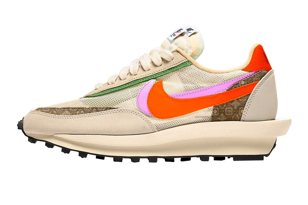 "CLOT x sacai x Nike LDWaffle Is Giving Heavy ""Kiss of Death"" Vibes 3"