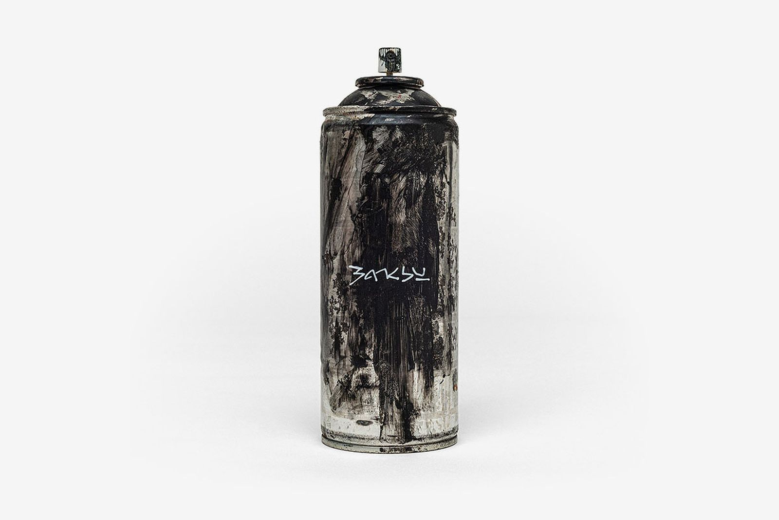 Banksy Gross Domestic Product spray paint can