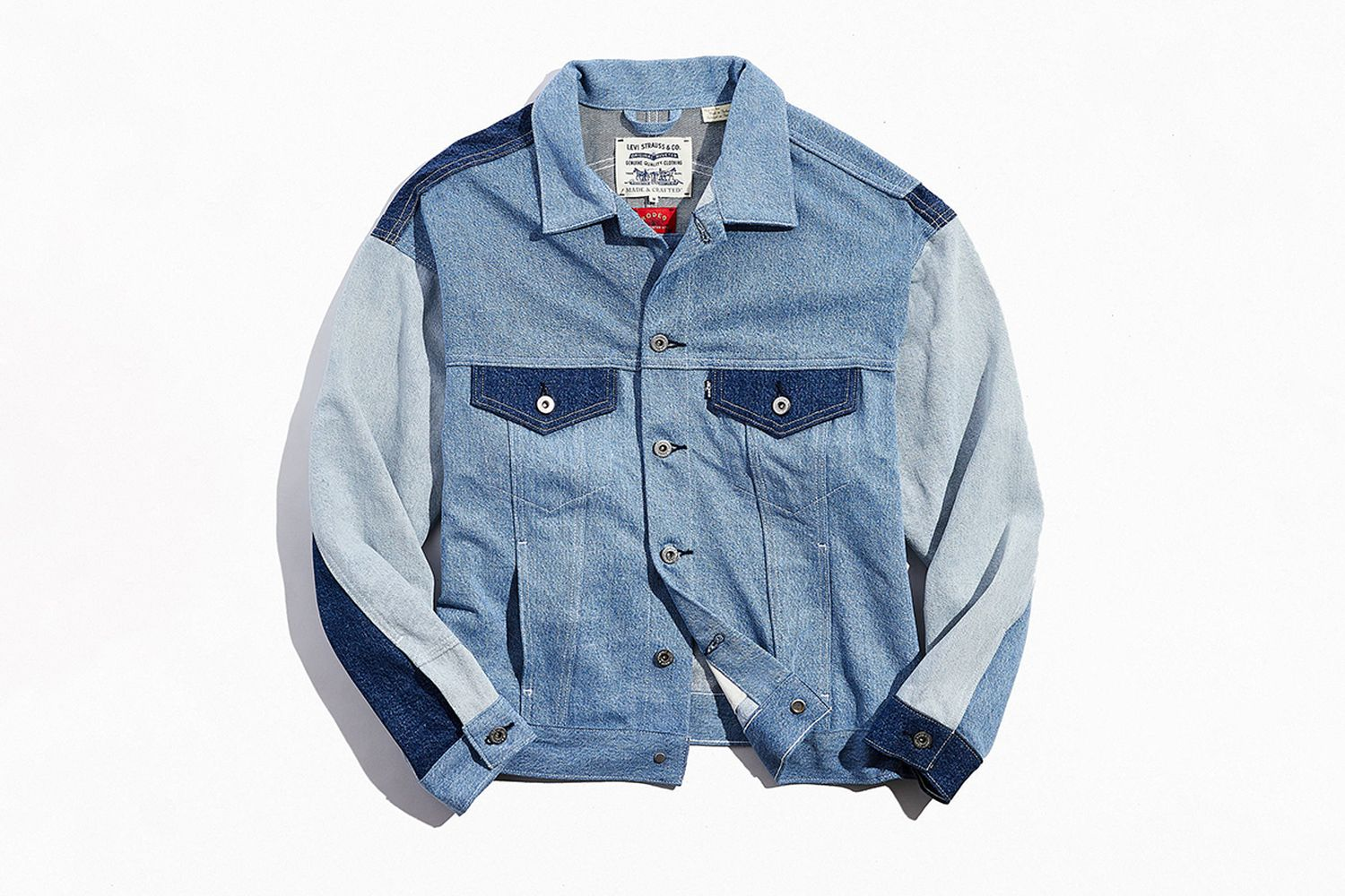Type 3 Oversized Denim Trucker Jacket