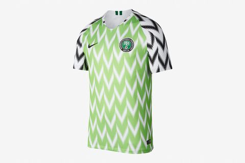 0da9209f987 Nigeria's Sold Out World Cup Jersey Is Reselling for a Fortune Online