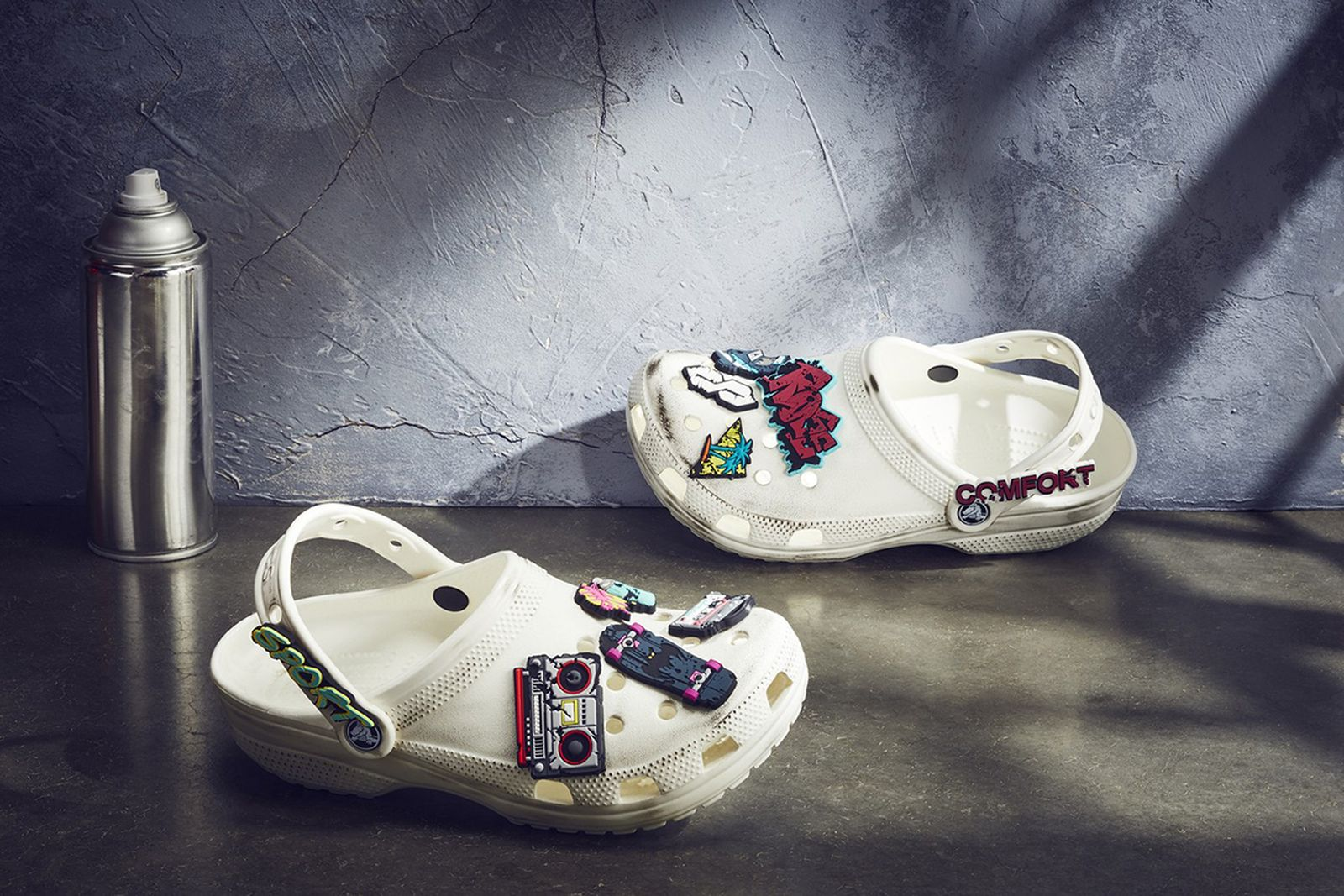 Ruby Rose x Crocs Classic Clog white