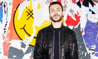 Surface to Air x Brodinski Leather Down Jacket