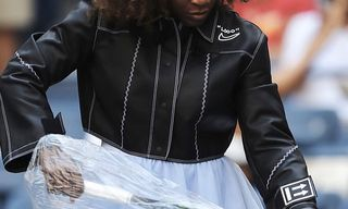 Virgil Abloh Unveils Custom OFF-WHITE x Nike Leather Jacket for Serena Williams