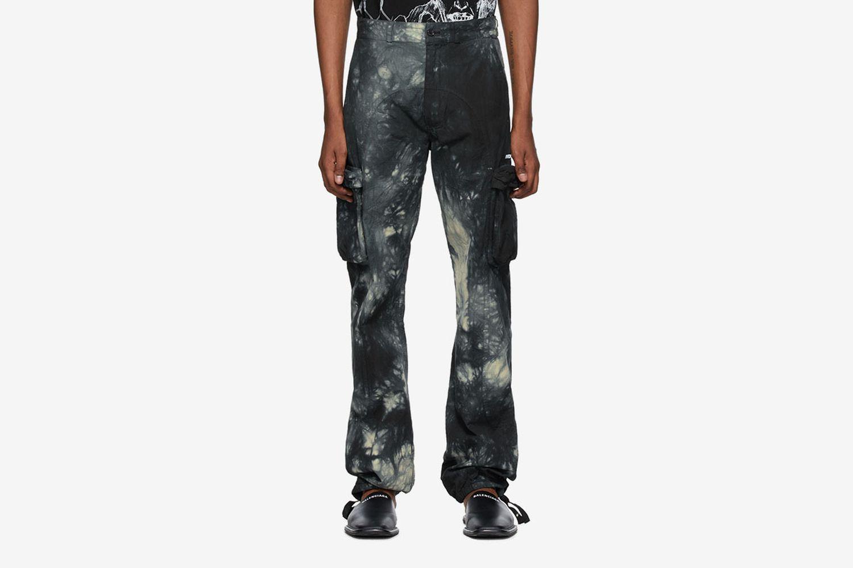 Tie-Dye Contour Cargo Pants
