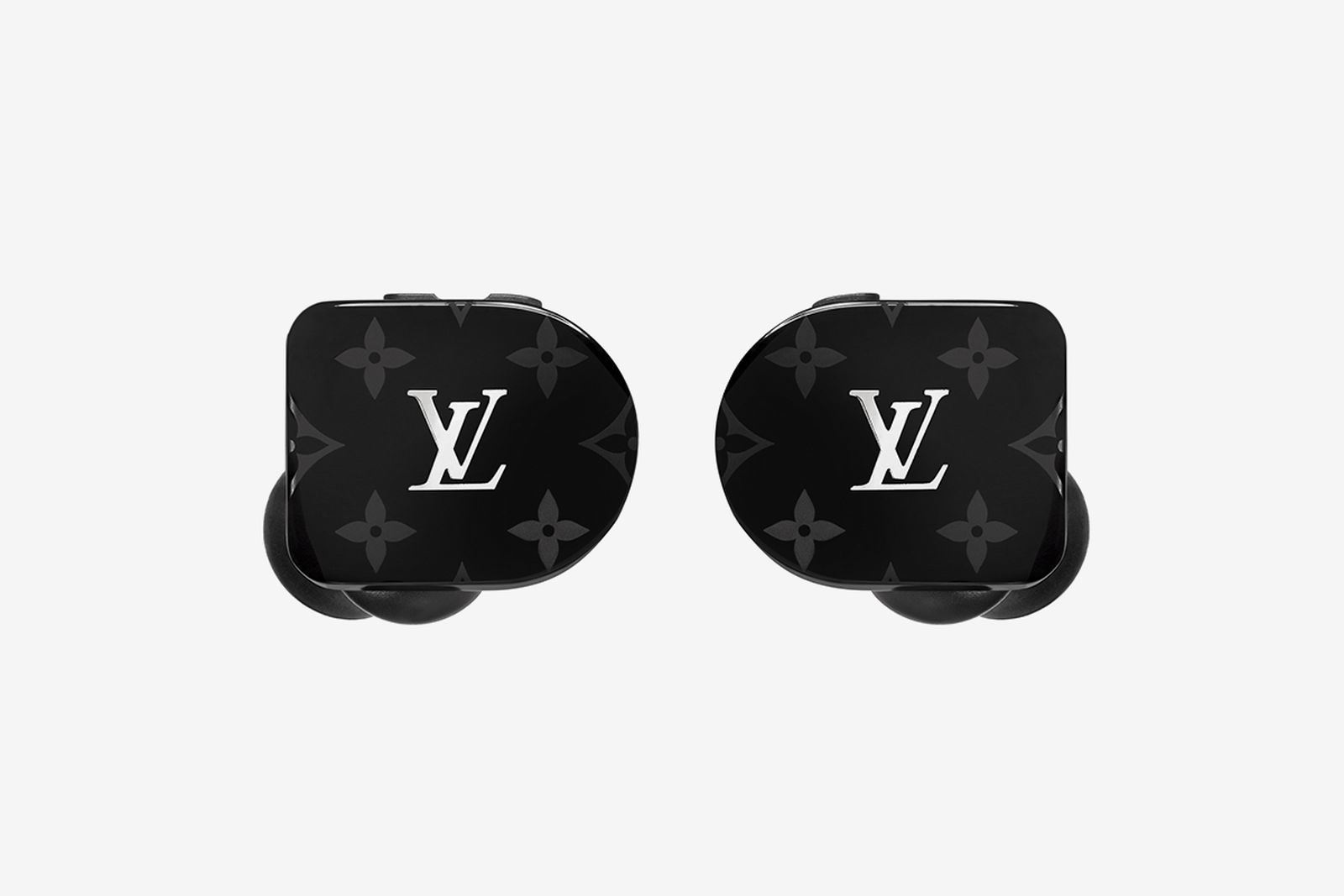 Horizon Earphones Black MNG PM2 Front View Louis Vuitton Master & Dynamic