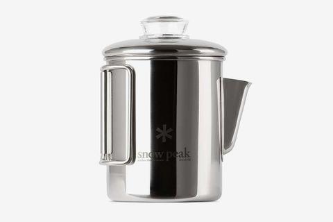 Stainless Coffee Percolator, 30.4 fl oz