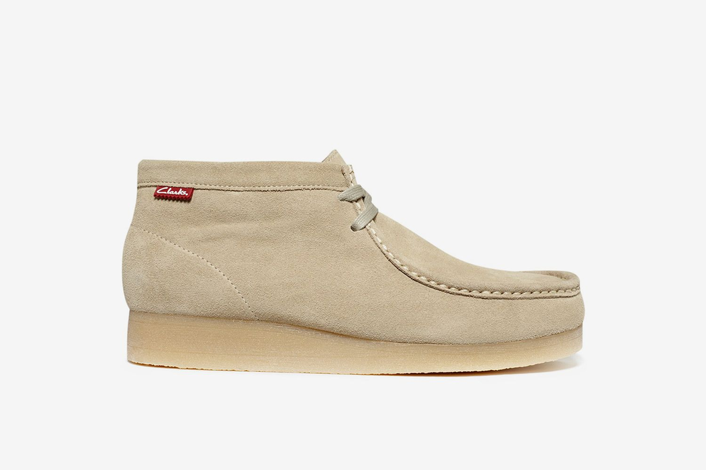 Stinson Hi Top Wallabee Boots
