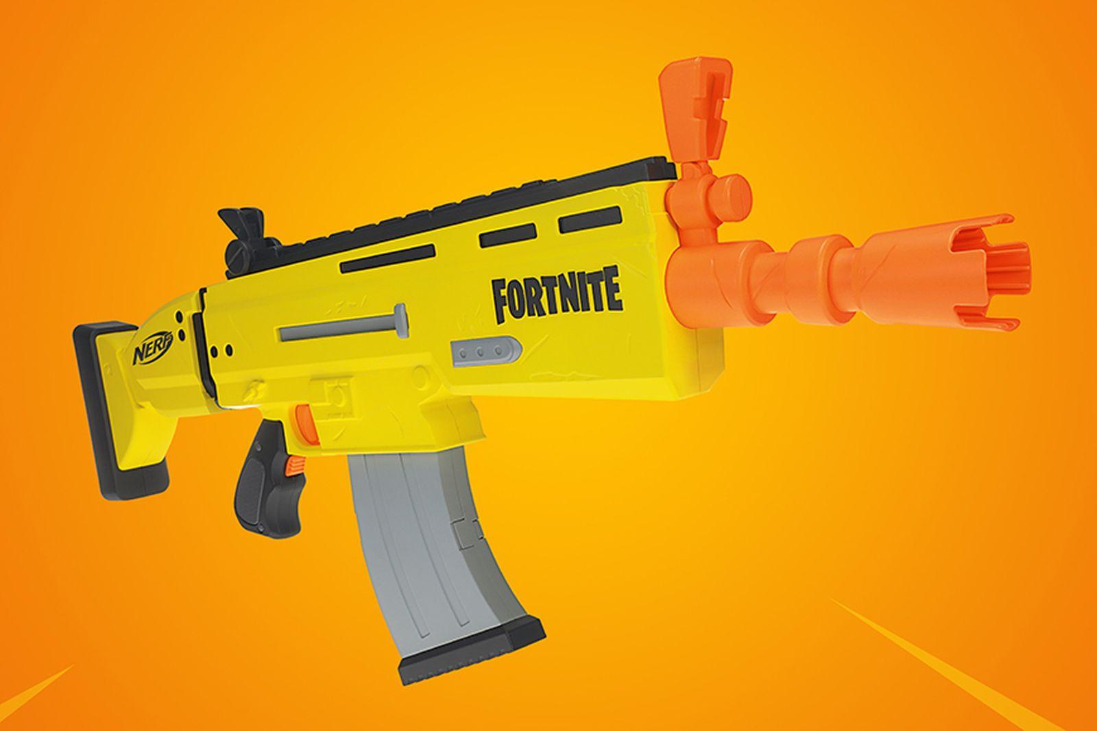 fortnite scar nerf gun