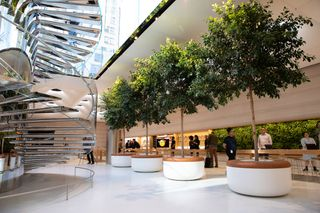 Apple\'s NYC Cube Store Is Reopening: Take a Look Inside Here