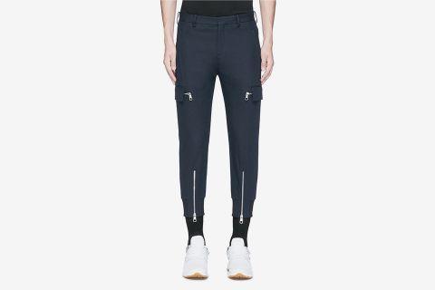 Zip Cuff Cargo Pants