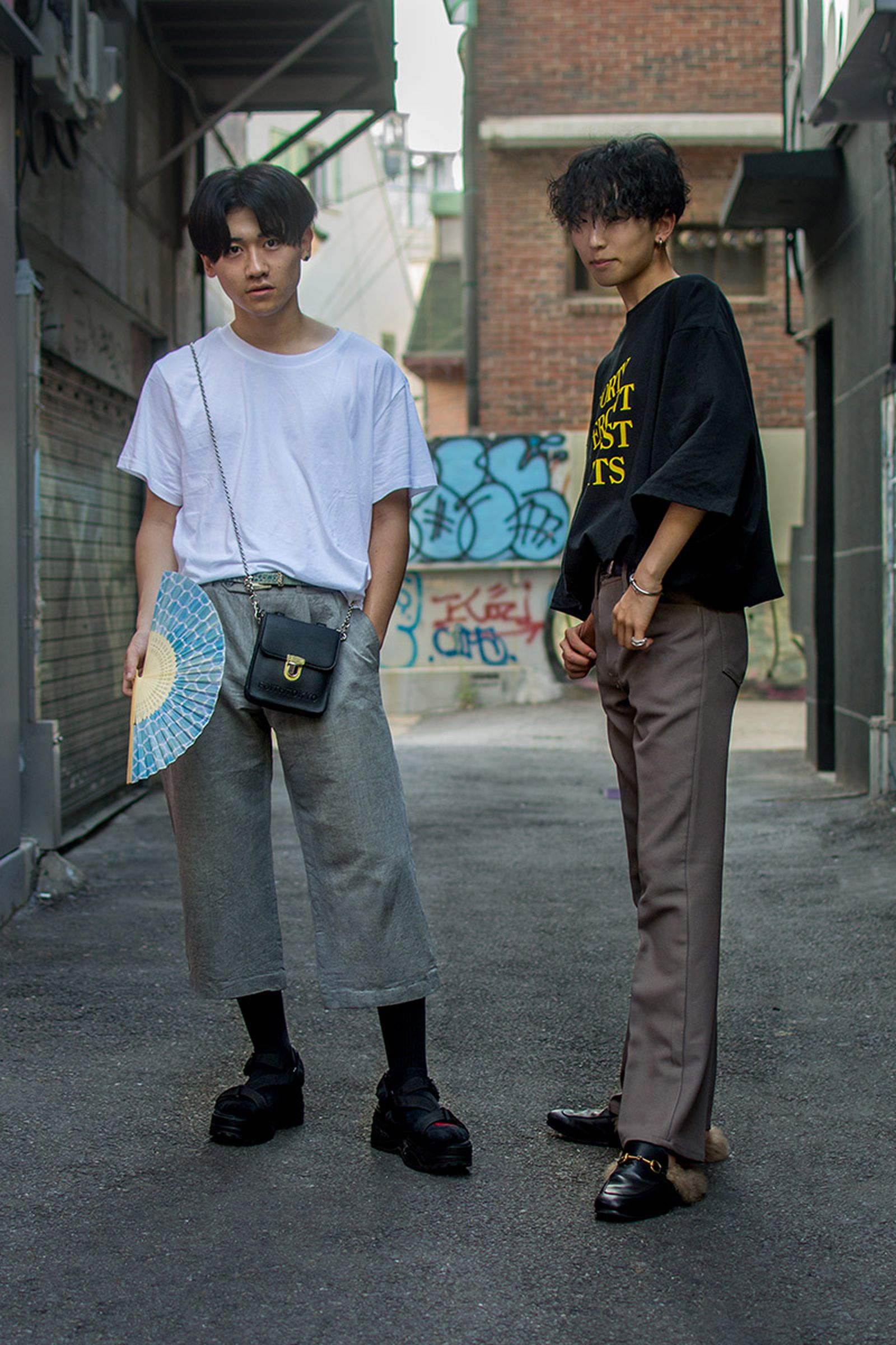seoul street style july19 Balenciaga Children of the Discordance Gucci