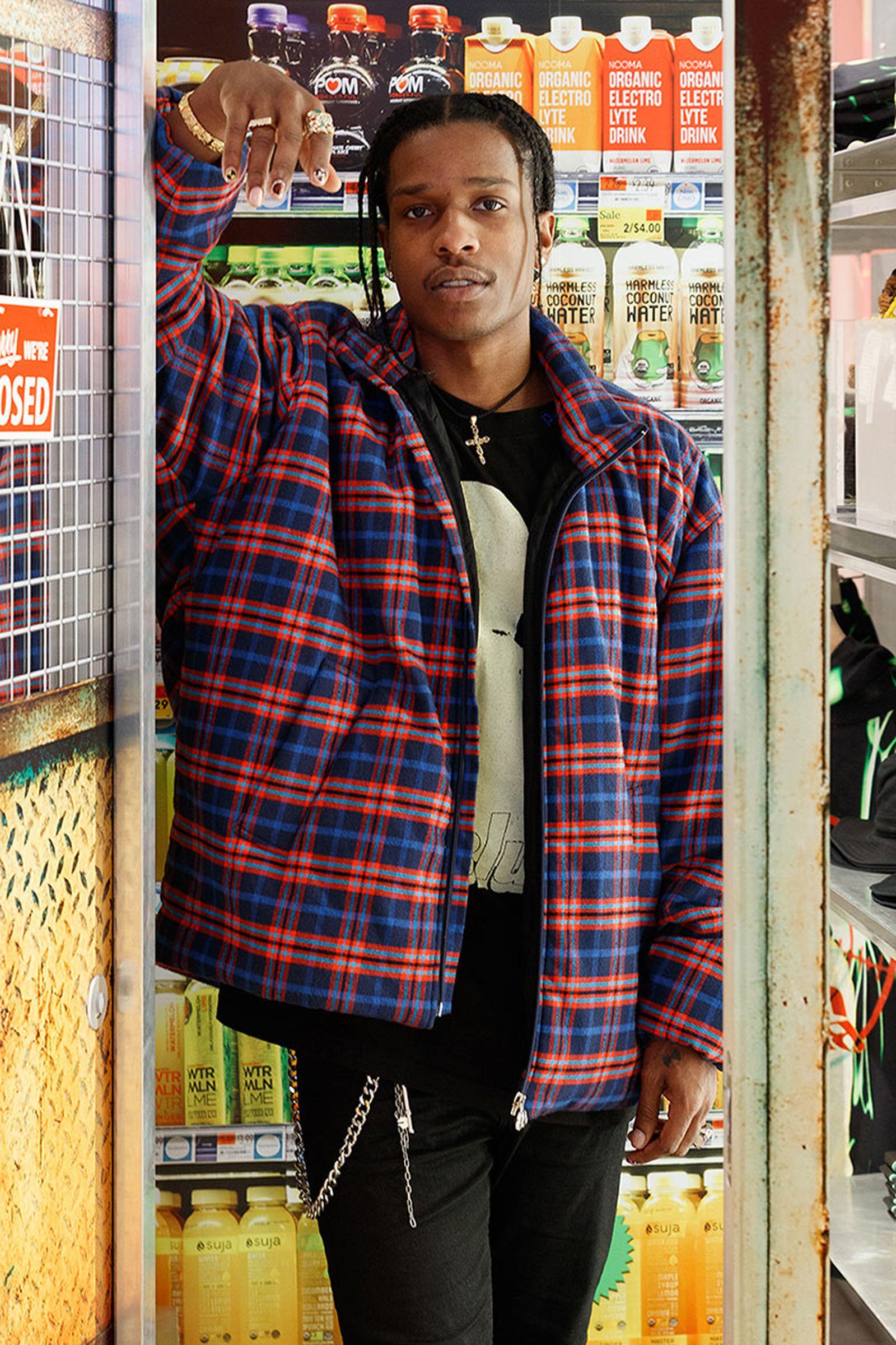 A$AP Rocky's AWGE Selfridges store
