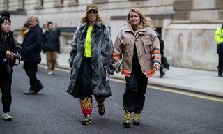 DIY Fashion Hits the Streets at London Fashion Week FW19