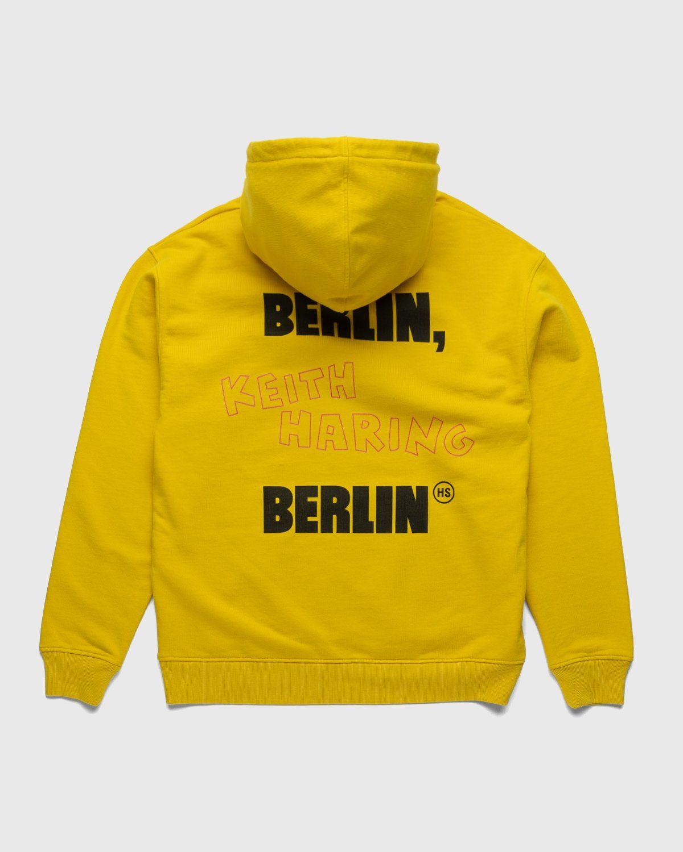 Highsnobiety x Keith Haring – Hoodie Yellow - Image 2