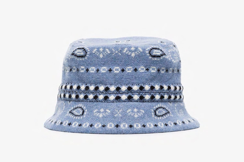 Reseda Cashmere Bucket Hat