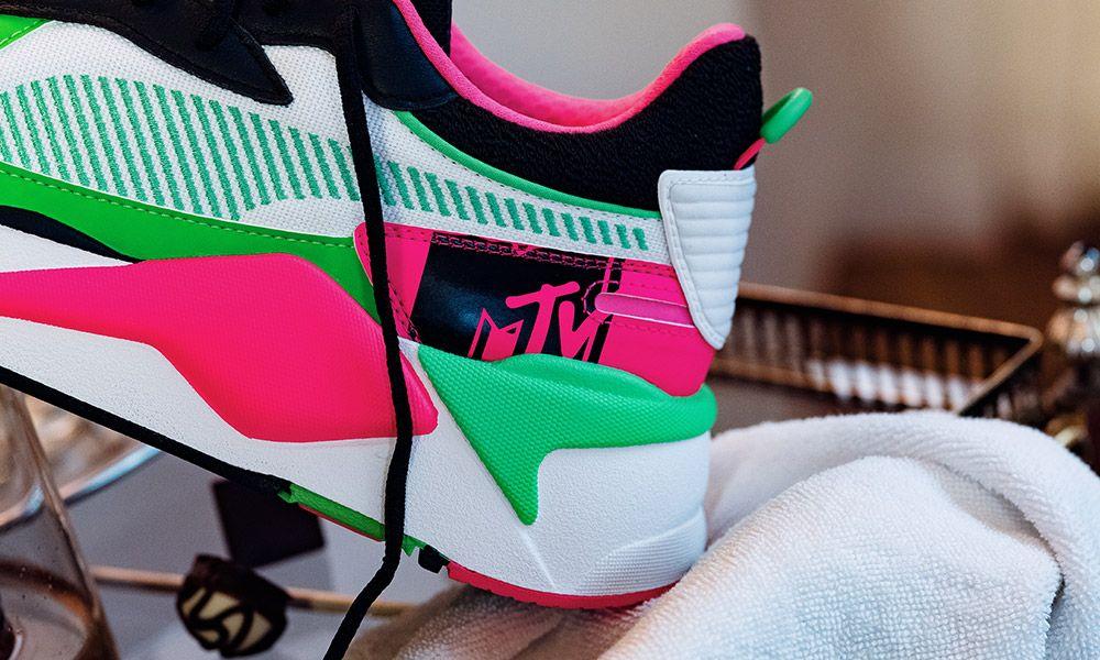 Inseguro Restricción acerca de  MTV Reinvents the New PUMA RS-X Tracks Sneaker