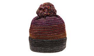 Missoni Multicoloured Degraded Bobble Beanie Hat