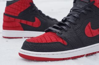 """the latest d81a4 c9351 4 more. Previous Next. JBF Customs presents its latest creation in the form  of this absolutely beautiful Air Jordan 1 """" ..."""