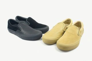 3d890ecbe4f8 Vans Vault x Engineered Garments Return With More Mismatched Slip-On  Colorways