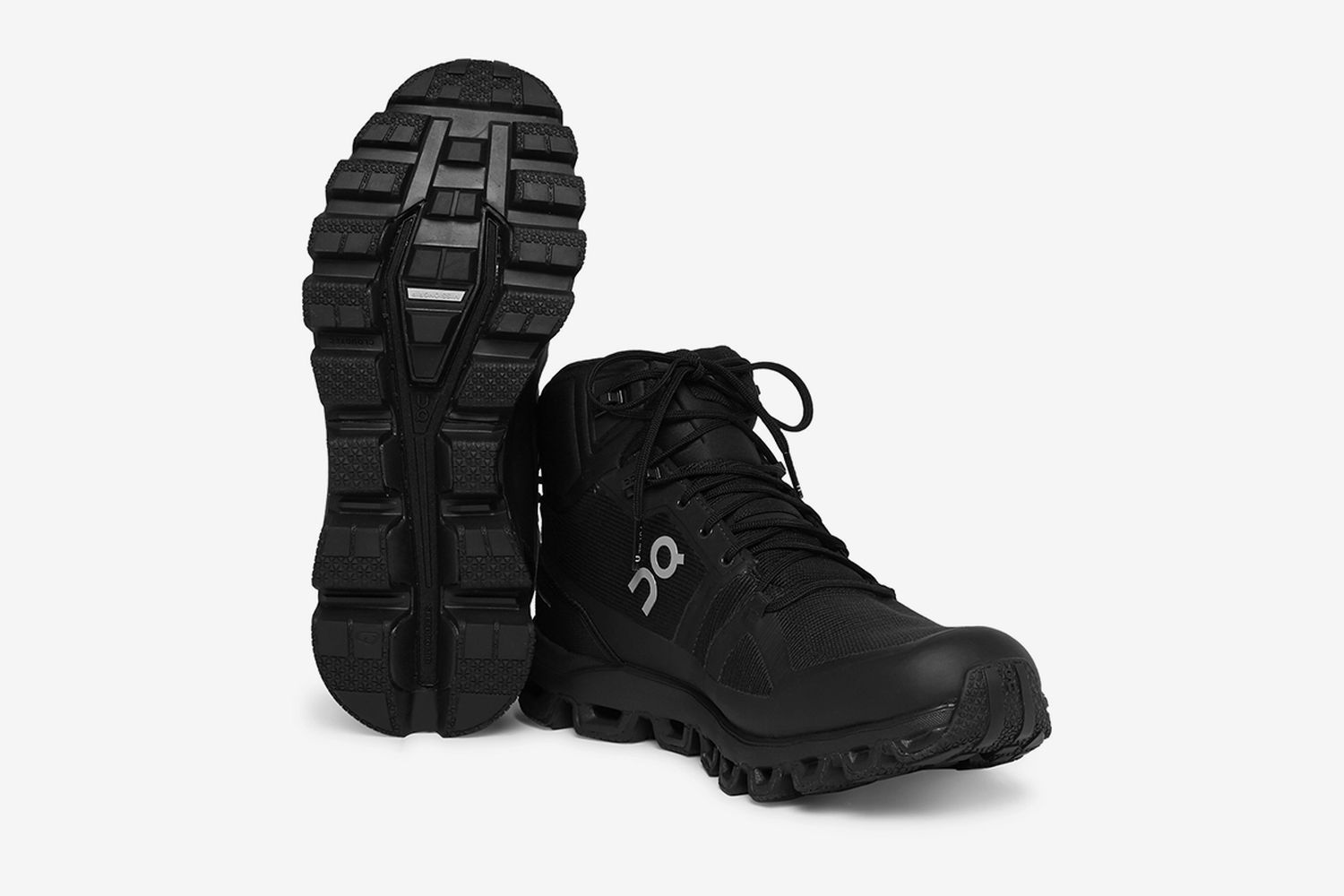 Cloudrock Waterproof Rubber-Trimmed Mesh Boots