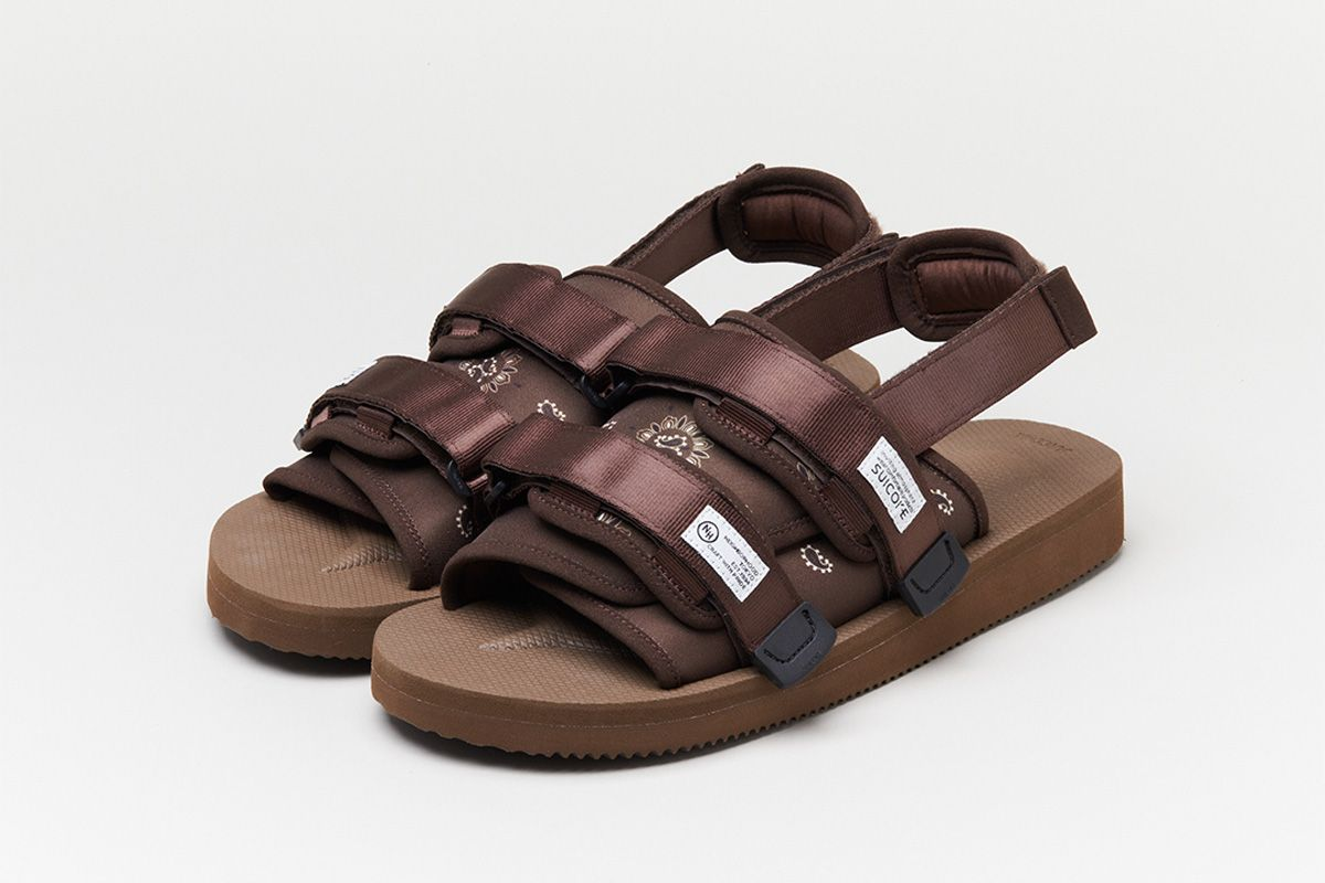 Suicoke Gives Its Sandal the NEIGHBORHOOD Treatment 3