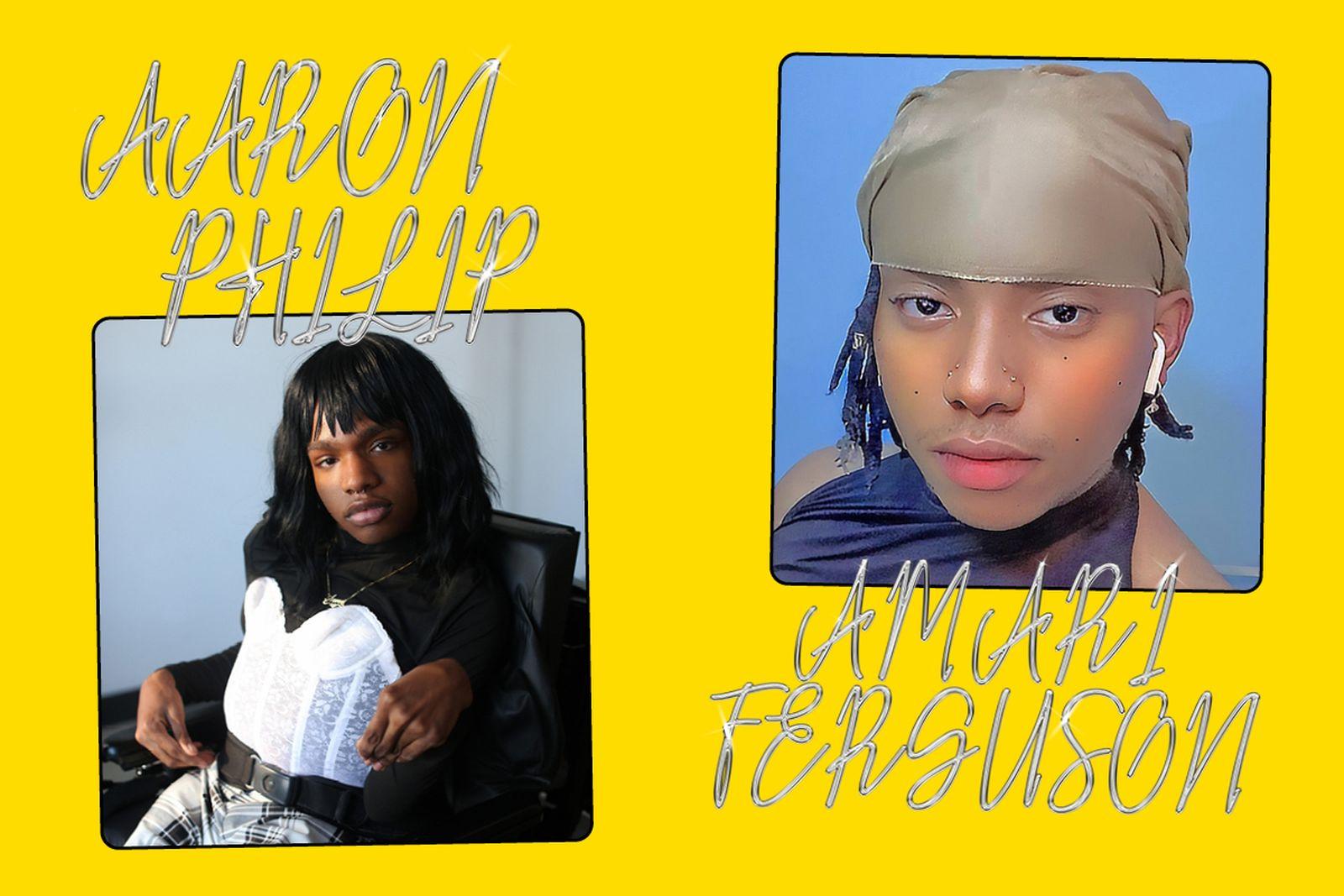 Left: Aaron Philip Right: Amari Ferguson