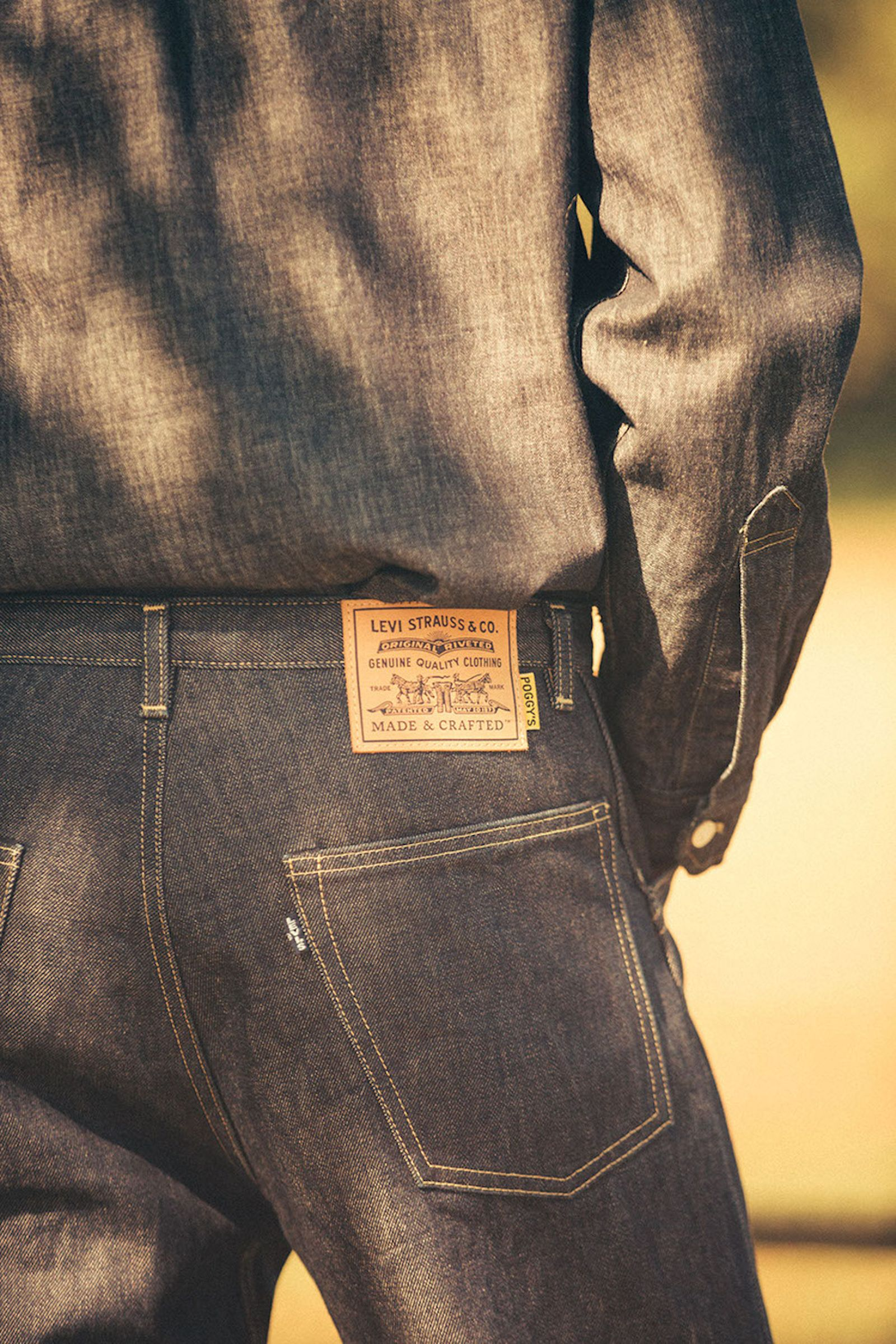 levis made and crafted poggytheman fw18 capsule levi's made & crafted