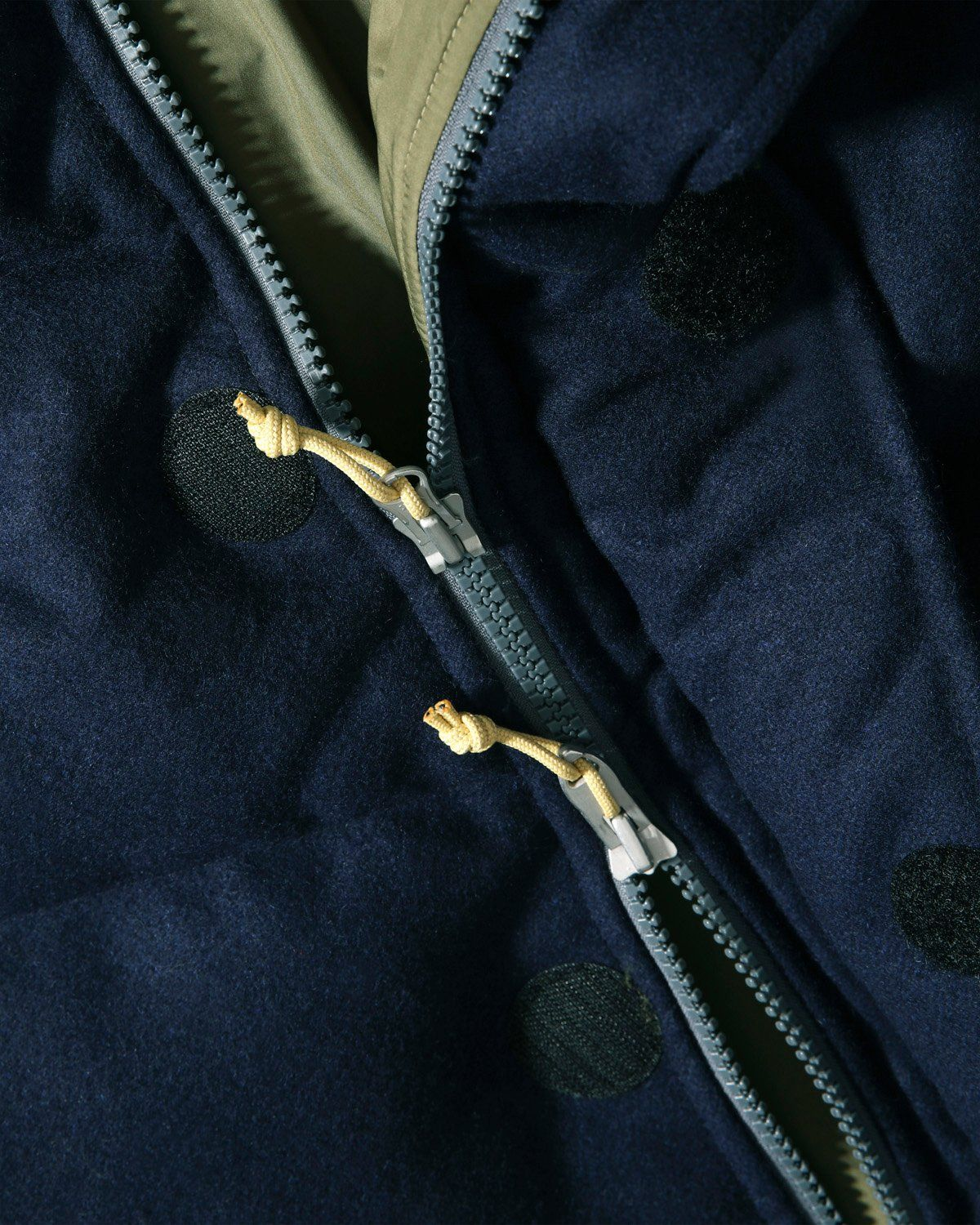 The North Face Brown Label - Larkspur Wool Down Jacket Navy Women - Image 4