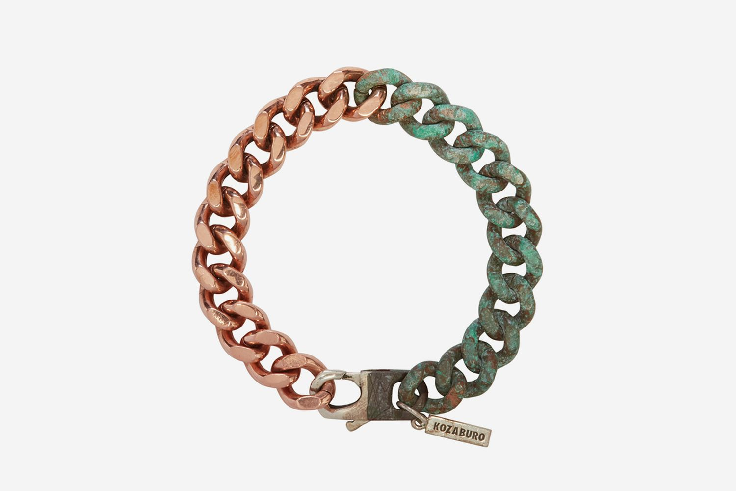 Copper Half Rusted Bracelet
