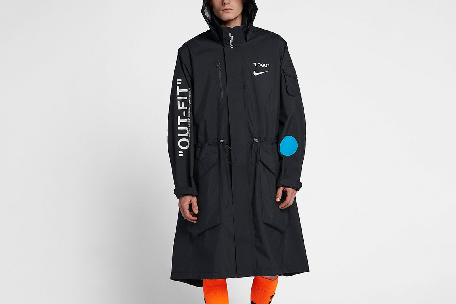 jacket 2018 FIFA World Cup Nike OFF-WHITE c/o Virgil Abloh
