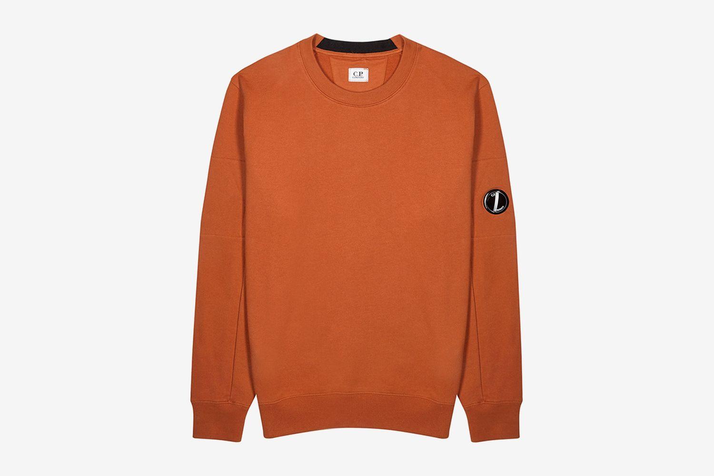 Rust Cotton Sweatshirt