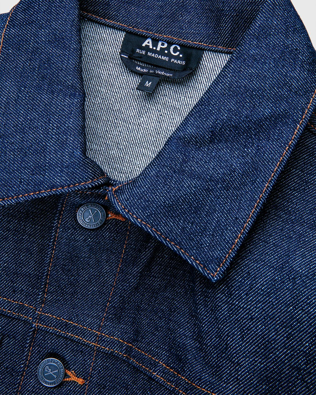 A.P.C. x Highsnobiety — Denim Jacket Blue - Image 4