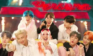 """BTS & Halsey Show Off Their Dance Moves in """"Boy With Luv"""""""