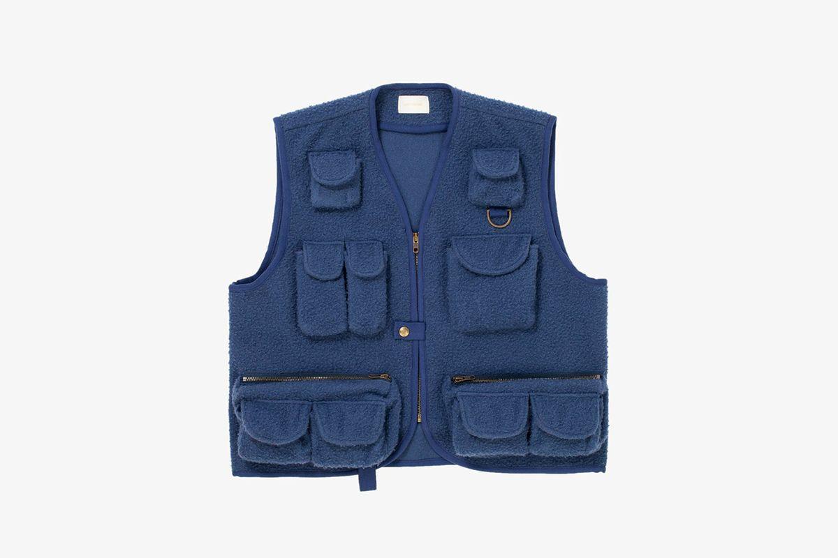 Nubby Wool Fisherman's Vest