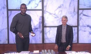 Watch LeBron James Down Vodka Shots on 'Ellen'