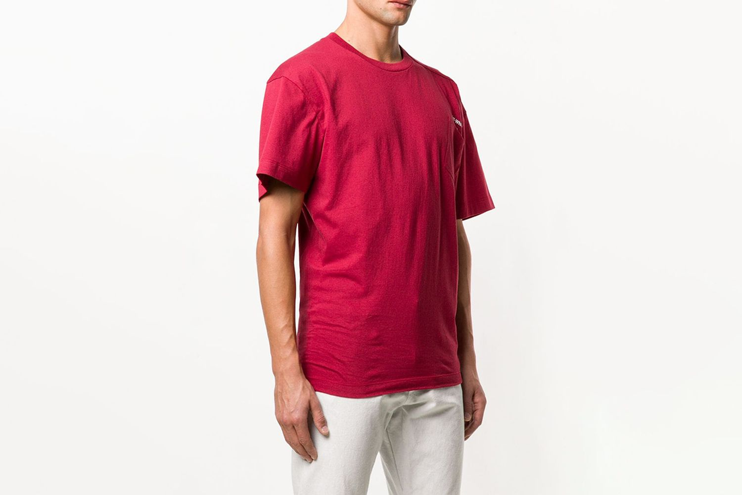 Off Centre Pocket Logo T-Shirt