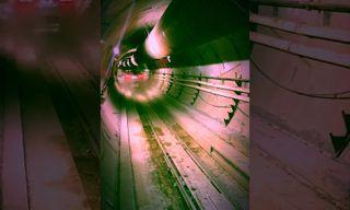 Watch a Tesla Model X Take a Test Drive in Elon Musk's L.A. Tunnel